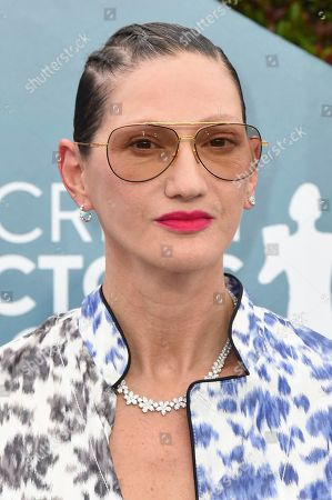 Stock Image of Jenna Lyons arrives at the 26th annual Screen Actors Guild Awards at the Shrine Auditorium & Expo Hall, in Los Angeles