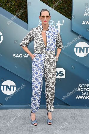Jenna Lyons arrives at the 26th annual Screen Actors Guild Awards at the Shrine Auditorium & Expo Hall, in Los Angeles