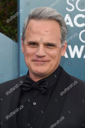 Michael Park arrives at the 26th annual Screen Actors Guild Awards at the Shrine Auditorium & Expo Hall, in Los Angeles