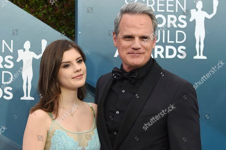 Kathleen Rose Park, Michael Park. Kathleen Rose Park, left and Michael Park arrive at the 26th annual Screen Actors Guild Awards at the Shrine Auditorium & Expo Hall, in Los Angeles