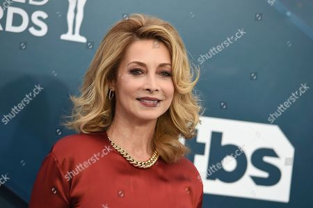 Sharon Lawrence arrives at the 26th annual Screen Actors Guild Awards at the Shrine Auditorium & Expo Hall, in Los Angeles
