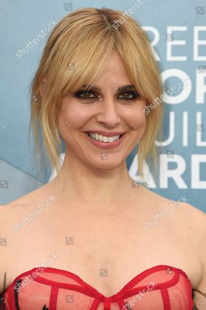 Cara Buono arrives at the 26th annual Screen Actors Guild Awards at the Shrine Auditorium & Expo Hall, in Los Angeles