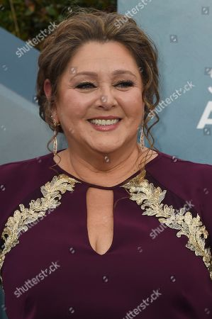 Camryn Manheim arrives at the 26th annual Screen Actors Guild Awards at the Shrine Auditorium & Expo Hall, in Los Angeles