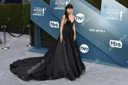 Jenna Lyng Adams arrives at the 26th annual Screen Actors Guild Awards at the Shrine Auditorium & Expo Hall, in Los Angeles