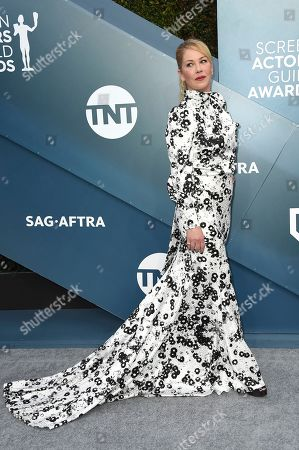 Christina Applegate arrives at the 26th annual Screen Actors Guild Awards at the Shrine Auditorium & Expo Hall, in Los Angeles