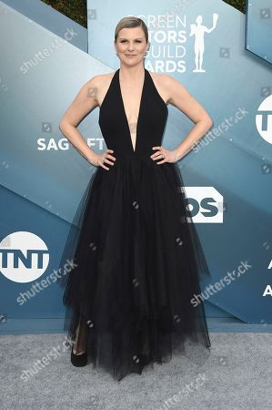 Jennifer Robertson arrives at the 26th annual Screen Actors Guild Awards at the Shrine Auditorium & Expo Hall, in Los Angeles