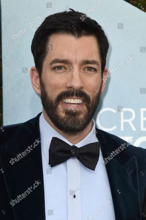Drew Scott arrives at the 26th annual Screen Actors Guild Awards at the Shrine Auditorium & Expo Hall, in Los Angeles