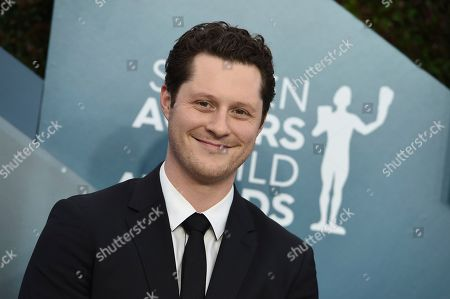 Noah Reid arrives at the 26th annual Screen Actors Guild Awards at the Shrine Auditorium & Expo Hall, in Los Angeles