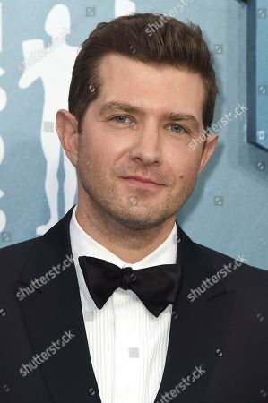 Stock Picture of Joel Johnstone arrives at the 26th annual Screen Actors Guild Awards at the Shrine Auditorium & Expo Hall, in Los Angeles