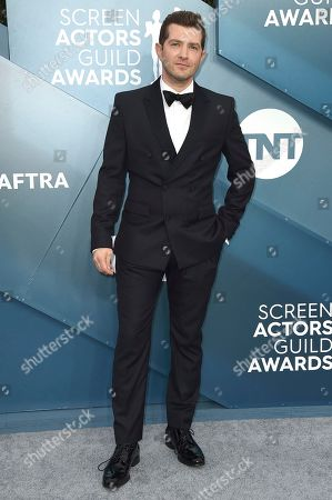 Joel Johnstone arrives at the 26th annual Screen Actors Guild Awards at the Shrine Auditorium & Expo Hall, in Los Angeles