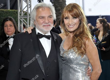David Green, Jane Seymour. David Green, left, and Jane Seymour arrives at the 26th annual Screen Actors Guild Awards at the Shrine Auditorium & Expo Hall, in Los Angeles
