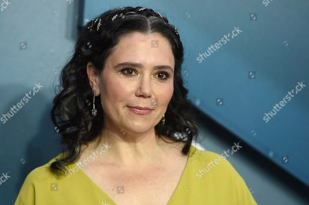 Alex Borstein arrives at the 26th annual Screen Actors Guild Awards at the Shrine Auditorium & Expo Hall, in Los Angeles
