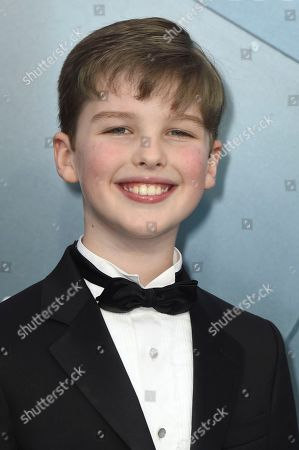 Iain Armitage arrives at the 26th annual Screen Actors Guild Awards at the Shrine Auditorium & Expo Hall, in Los Angeles