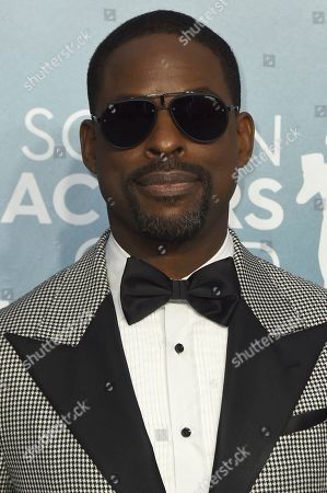 Sterling K. Brown arrives at the 26th annual Screen Actors Guild Awards at the Shrine Auditorium & Expo Hall, in Los Angeles