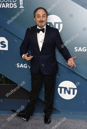Kevin Pollak arrives at the 26th annual Screen Actors Guild Awards at the Shrine Auditorium & Expo Hall, in Los Angeles