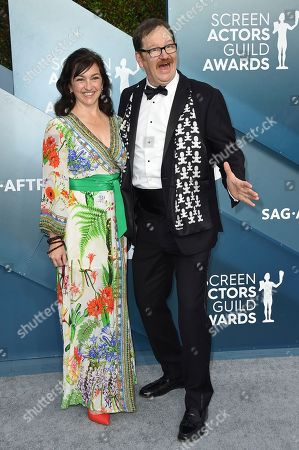 Julie Millett, John Pirruccello. Julie Millett, left, and John Pirruccello arrive at the 26th annual Screen Actors Guild Awards at the Shrine Auditorium & Expo Hall, in Los Angeles