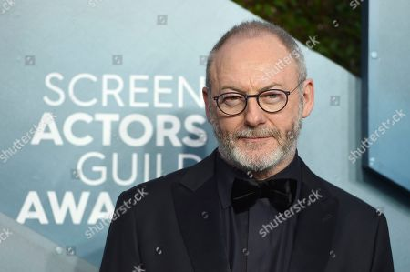Stock Photo of Liam Cunningham arrives at the 26th annual Screen Actors Guild Awards at the Shrine Auditorium & Expo Hall, in Los Angeles