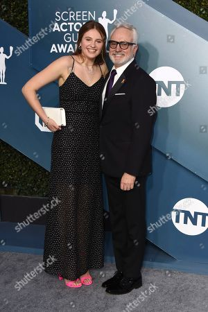 Mary Louisa Whitford, Bradley Whitford. Mary Louisa Whitford, left, and Bradley Whitford arrive at the 26th annual Screen Actors Guild Awards at the Shrine Auditorium & Expo Hall, in Los Angeles