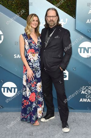 Eloise DiMase-Nordling, Jeffrey Nordling. Eloise DiMase-Nordling, left and Jeffrey Nordling arrive at the 26th annual Screen Actors Guild Awards at the Shrine Auditorium & Expo Hall, in Los Angeles