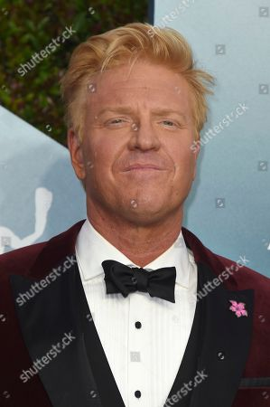Stock Image of Jake Busey arrives at the 26th annual Screen Actors Guild Awards at the Shrine Auditorium & Expo Hall, in Los Angeles