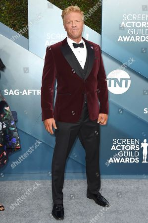 Jake Busey arrives at the 26th annual Screen Actors Guild Awards at the Shrine Auditorium & Expo Hall, in Los Angeles