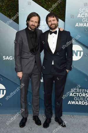 Stock Picture of Matt Duffer, Ross Duffer. Matt Duffer, left, and Ross Duffer arrive at the 26th annual Screen Actors Guild Awards at the Shrine Auditorium & Expo Hall, in Los Angeles