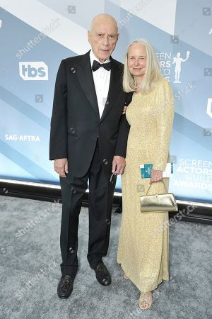 Stock Picture of Alan Arkin, Suzanne Newlander Arkin arrive at the 26th annual Screen Actors Guild Awards at the Shrine Auditorium & Expo Hall, in Los Angeles