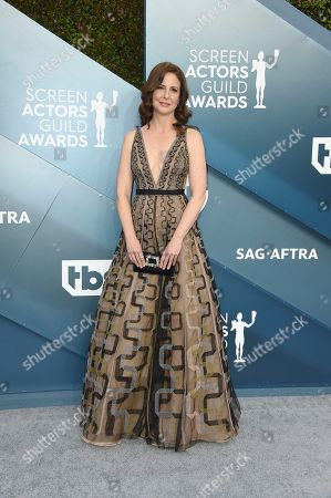 Robin Weigert arrives at the 26th annual Screen Actors Guild Awards at the Shrine Auditorium & Expo Hall, in Los Angeles