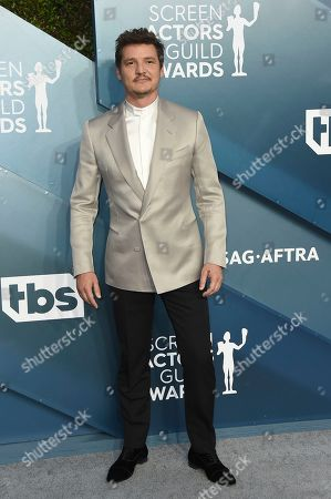 Pedro Pascal arrives at the 26th annual Screen Actors Guild Awards at the Shrine Auditorium & Expo Hall, in Los Angeles
