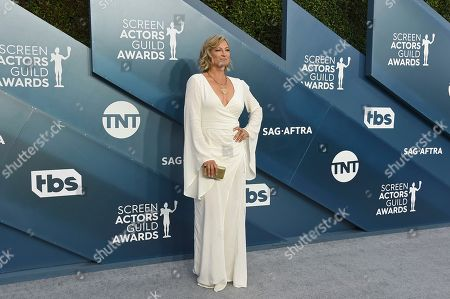 Zoe Bell arrives at the 26th annual Screen Actors Guild Awards at the Shrine Auditorium & Expo Hall, in Los Angeles