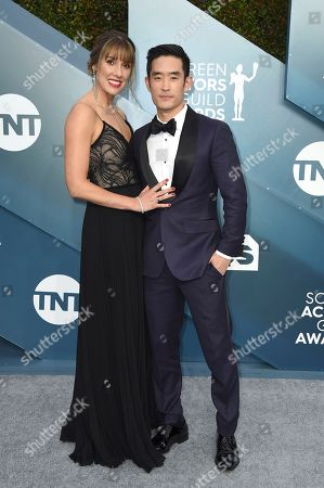 Richelle Moh, Mike Moh. Richelle Moh, left, and Mike Moh arrive at the 26th annual Screen Actors Guild Awards at the Shrine Auditorium & Expo Hall, in Los Angeles