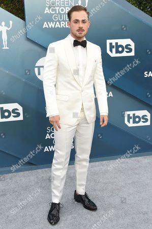 Dacre Montgomery arrives at the 26th annual Screen Actors Guild Awards at the Shrine Auditorium & Expo Hall, in Los Angeles