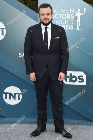 John Bradley arrives at the 26th annual Screen Actors Guild Awards at the Shrine Auditorium & Expo Hall, in Los Angeles