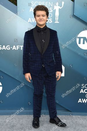 Gaten Matarazzo arrives at the 26th annual Screen Actors Guild Awards at the Shrine Auditorium & Expo Hall, in Los Angeles