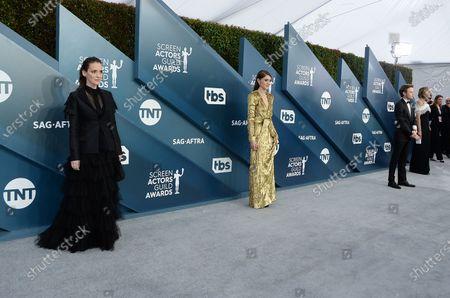 Winona Ryder and Natalia Dyer