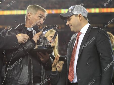 Editorial picture of Green Bay Packers at San Francisco 49ers, Santa Clara, USA - 19 Jan 2020