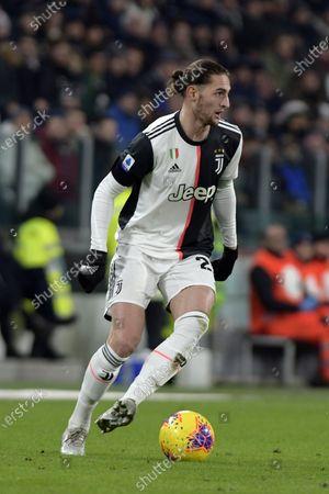 Adrien Rabiot of Juventus on the ball