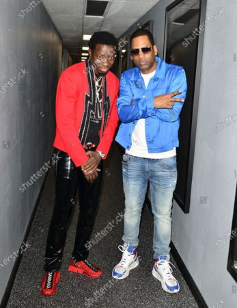 Michael Blackson and Tony Rock