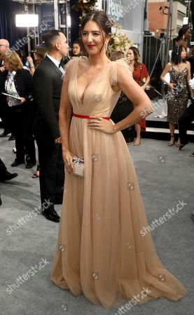 Stock Picture of D'Arcy Carden arrives at the 26th annual Screen Actors Guild Awards at the Shrine Auditorium & Expo Hall, in Los Angeles