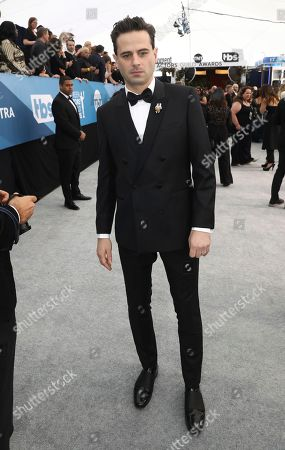 Luke Kirby arrives at the 26th annual Screen Actors Guild Awards at the Shrine Auditorium & Expo Hall, in Los Angeles
