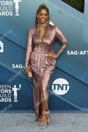 Editorial picture of Arrivals - 26th Screen Actors Guild Awards, Los Angeles, USA - 19 Jan 2020