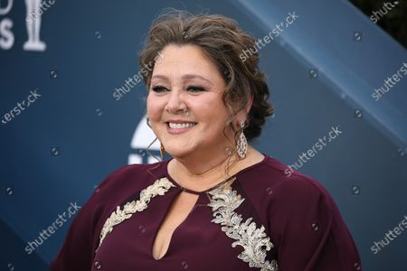 Camryn Manheim arrives for the 26th annual Screen Actors Guild Awards ceremony at the Shrine Auditorium in Los Angeles, California, USA, 19 January 2020.