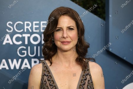 Robin Weigert arrives for the 26th annual Screen Actors Guild Awards ceremony at the Shrine Auditorium in Los Angeles, California, USA, 19 January 2020.