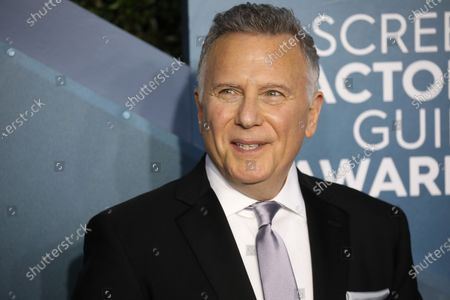 Paul Reiser arrives for the 26th annual Screen Actors Guild Awards ceremony at the Shrine Auditorium in Los Angeles, California, USA, 19 January 2020.