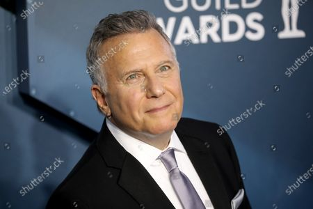 Stock Image of Paul Reiser arrives for the 26th annual Screen Actors Guild Awards ceremony at the Shrine Auditorium in Los Angeles, California, USA, 19 January 2020.