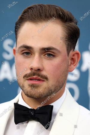Dacre Montgomery arrives for the 26th annual Screen Actors Guild Awards ceremony at the Shrine Auditorium in Los Angeles, California, USA, 19 January 2020.