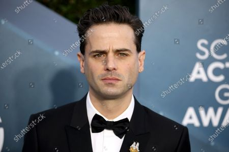 Luke Kirby arrives for the 26th annual Screen Actors Guild Awards ceremony at the Shrine Auditorium in Los Angeles, California, USA, 19 January 2020.