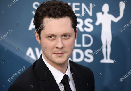 Stock Image of Noah Reid arrives for the 26th annual Screen Actors Guild Awards ceremony at the Shrine Auditorium in Los Angeles, California, USA, 19 January 2020.