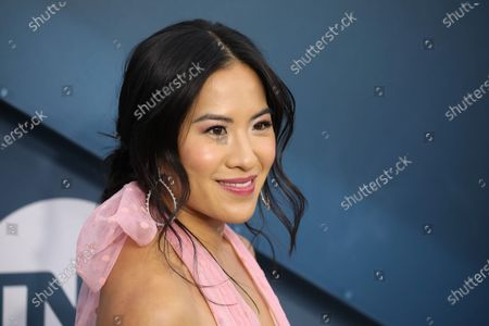 Stock Photo of Melissa Tang arrives for the 26th annual Screen Actors Guild Awards ceremony at the Shrine Auditorium in Los Angeles, California, USA, 19 January 2020.