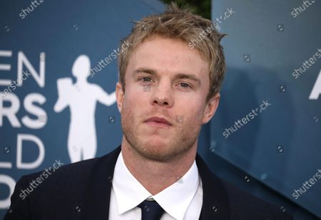 Stock Image of Graham Rogers arrives for the 26th annual Screen Actors Guild Awards ceremony at the Shrine Auditorium in Los Angeles, California, USA, 19 January 2020.